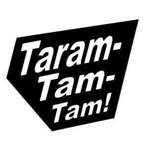Taramtamtam Logo schwarz mit weißer Schrift
