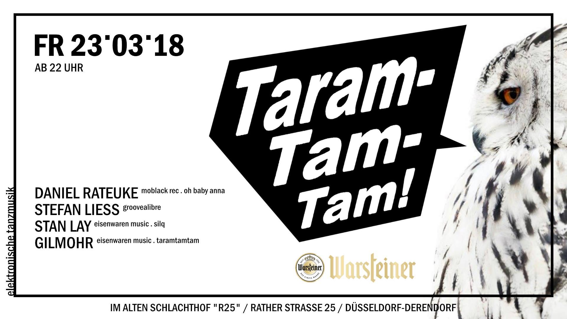 Taramtamtam Eventflyer23.03.2018 - Alter Schlachthof,