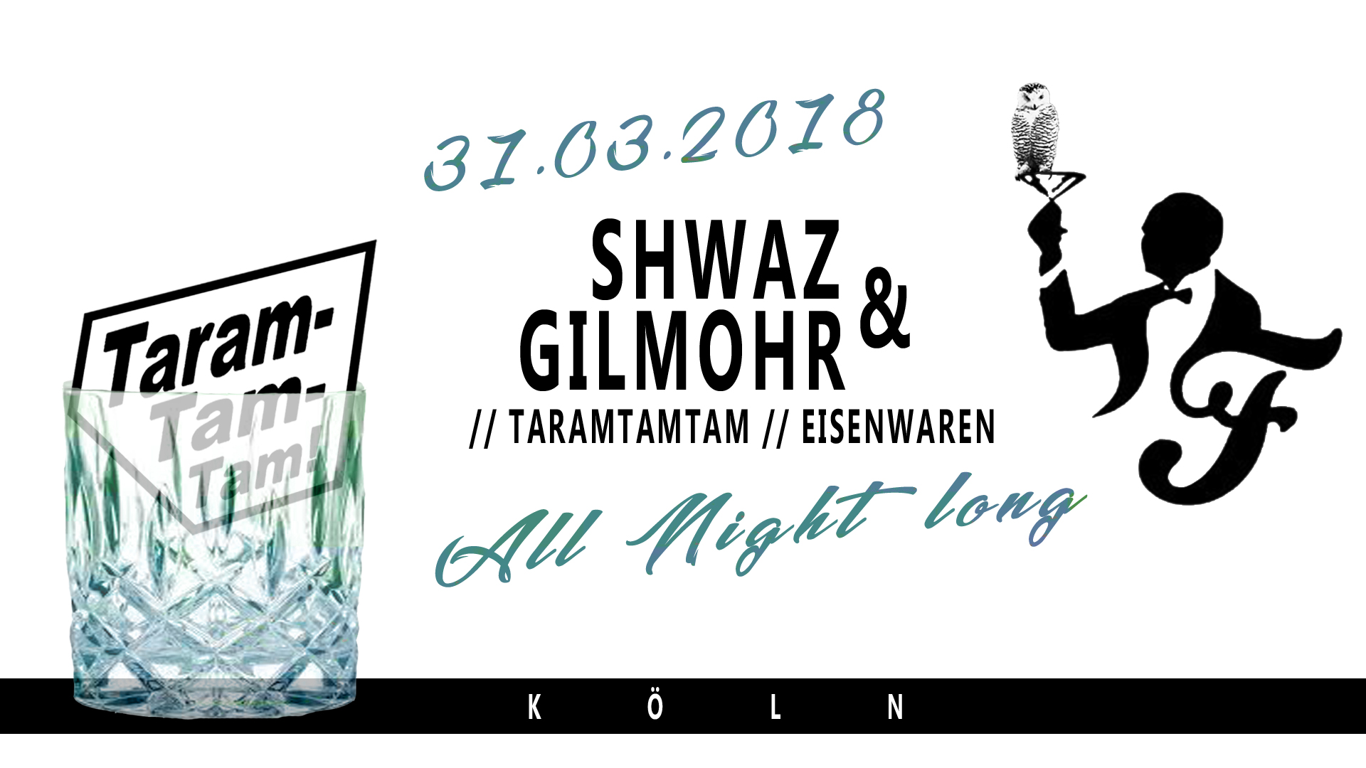 Taramtamtam Eventflyer 31.03.2018 - Friesen Bar - Köln