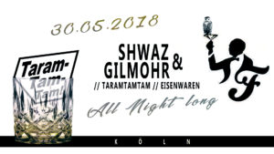 Taramtamtam Eventflyer 30.05.2018 - Friesen Bar - Köln
