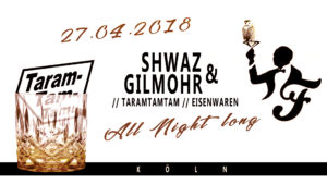 Taramtamtam Eventflyer 27.04.2018 - Friesen Bar - Köln