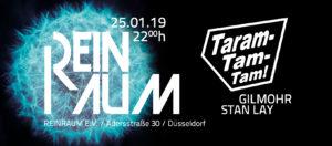 Reinraum - 2 Jahre Taramtamtam Veranstaltungs Banner 25.01.2019